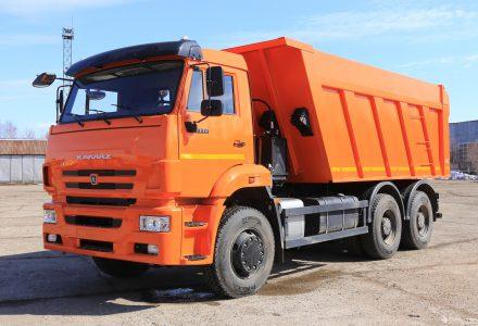 Вывоз мусора КАМАЗом 6520
